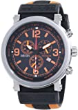Nautec No Limit Herren-Armbanduhr XL Speed Chronograph Quarz Kautschuk SE QZ/RBORSTSTBK-OR