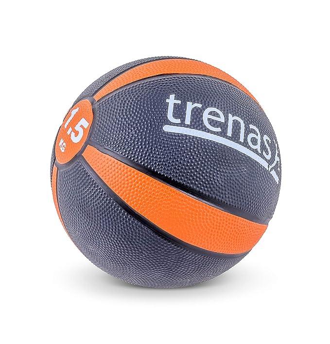 trenas Balón Medicinal de Goma Pro - 4 kg: Amazon.es: Deportes y ...