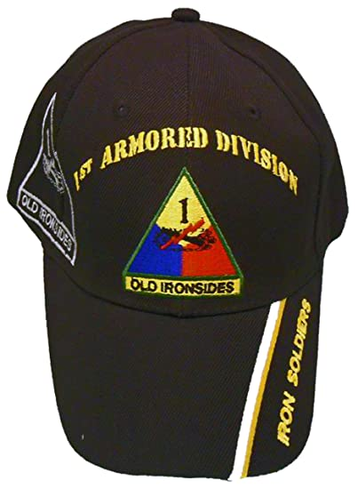 3540ae6f231 1st Armored Division Cap and BCAH Bumper Sticker
