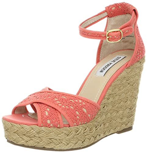 12367bf57d4 Amazon.com | Steve Madden Women's Marrvil | Platforms & Wedges