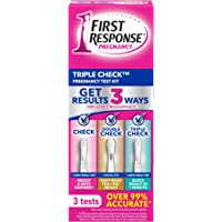 First Response Triple Check Pregnancy Test 3 ct.