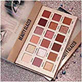 New Nude Eyeshadow Palette The 18 Colors Matte Shimmer Glitter Multi-Reflective Shades Ultra Pigmented Makeup Eye Shadow Powd