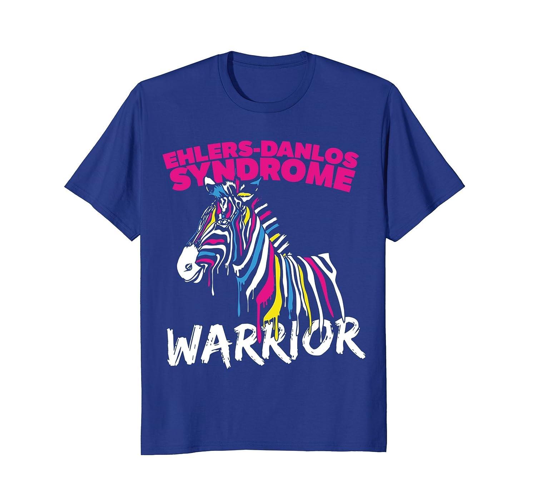 Ehlers-Danlos Syndrome Zebra Warrior T-shirt-AZP