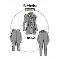 Butterick patrón Disfraces (para Hombre y Mujer, Tallas