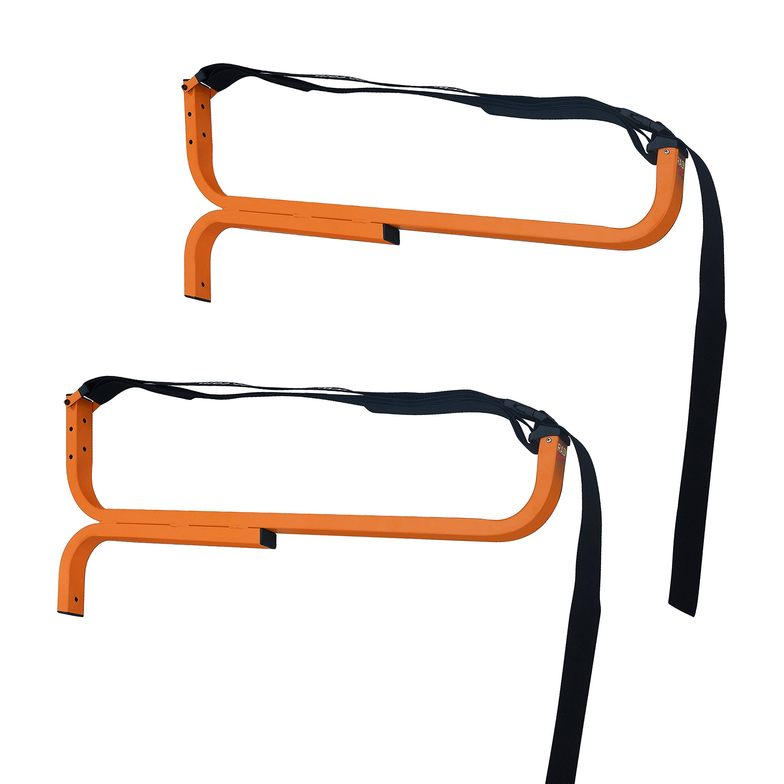 1232 RAD Sportz Level Canoe Hanger Kayak Rack and Stand-Up Paddle Board Holder Yellow by RAD Sportz
