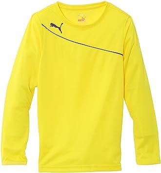 Puma Momentta GK - Camiseta de fútbol para niño amarillo amarillo Talla:8 años: Amazon.es: Deportes y aire libre