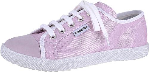 pink lace flats