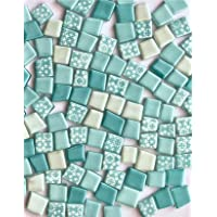 Sai Mosaic Art Pastel Mix tumble turquoise
