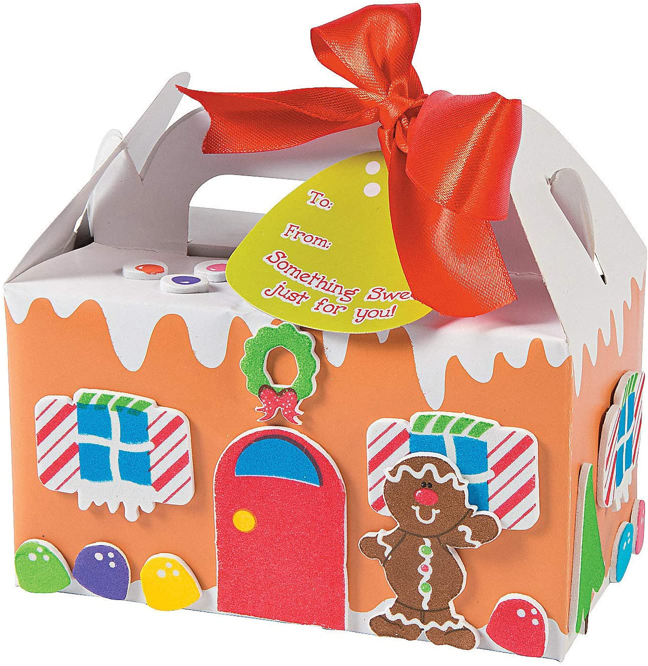 Amazon Com Gingerbread Treat Box Kids Craft Kit Crafts For Kids And Fun Home Activities Toys Games