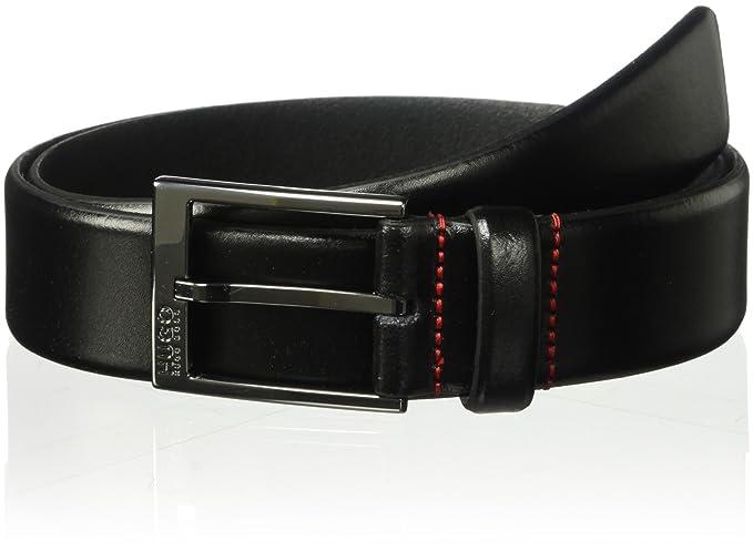 super cute get cheap quality products Hugo Boss mens Garney Leather Belt Belt