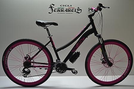 Ciclos ferrareis Bicicleta de Mujer 28 Bicicleta híbrida Bicicleta ...