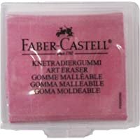 Faber-Castell - Goma moldeable, color rojo, amarillo o azul brombeer