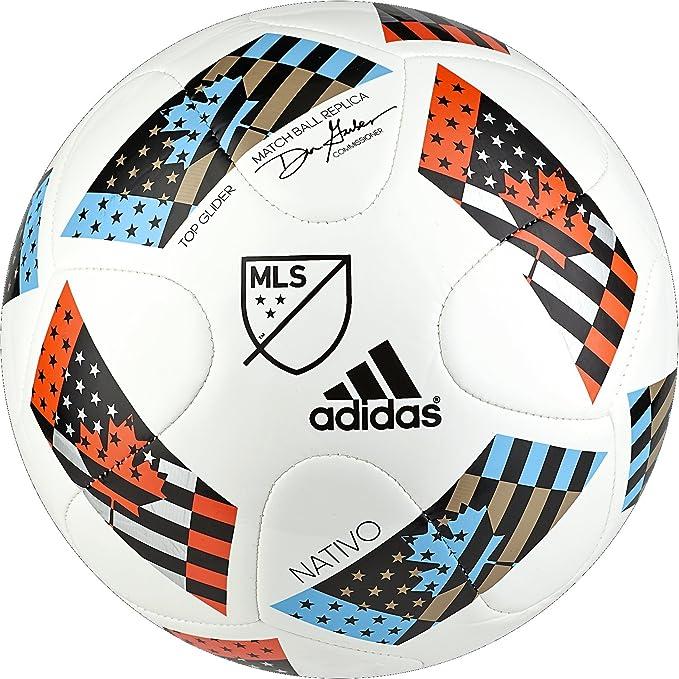 94574e712fb Amazon.com : adidas Performance MLS Top Glider Soccer Ball : Sports &  Outdoors