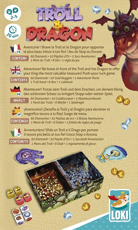 Lúdilo Troll and Dragon, Multicolor (51475): Amazon.es: Juguetes y juegos