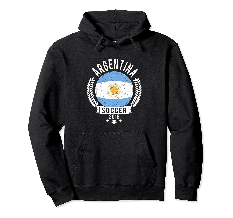 Argentina 2018 Soccer Team Fan Jersey Hoodie-Newstyleth