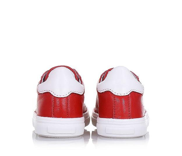 Ciao Bimbi Chaussure Rouge en Cuir et Suède, Bien Soignée dans Ses Détails, Qui est en Mesure de Combiner Style, qualité et Sécurité, Garçon, garçons-20