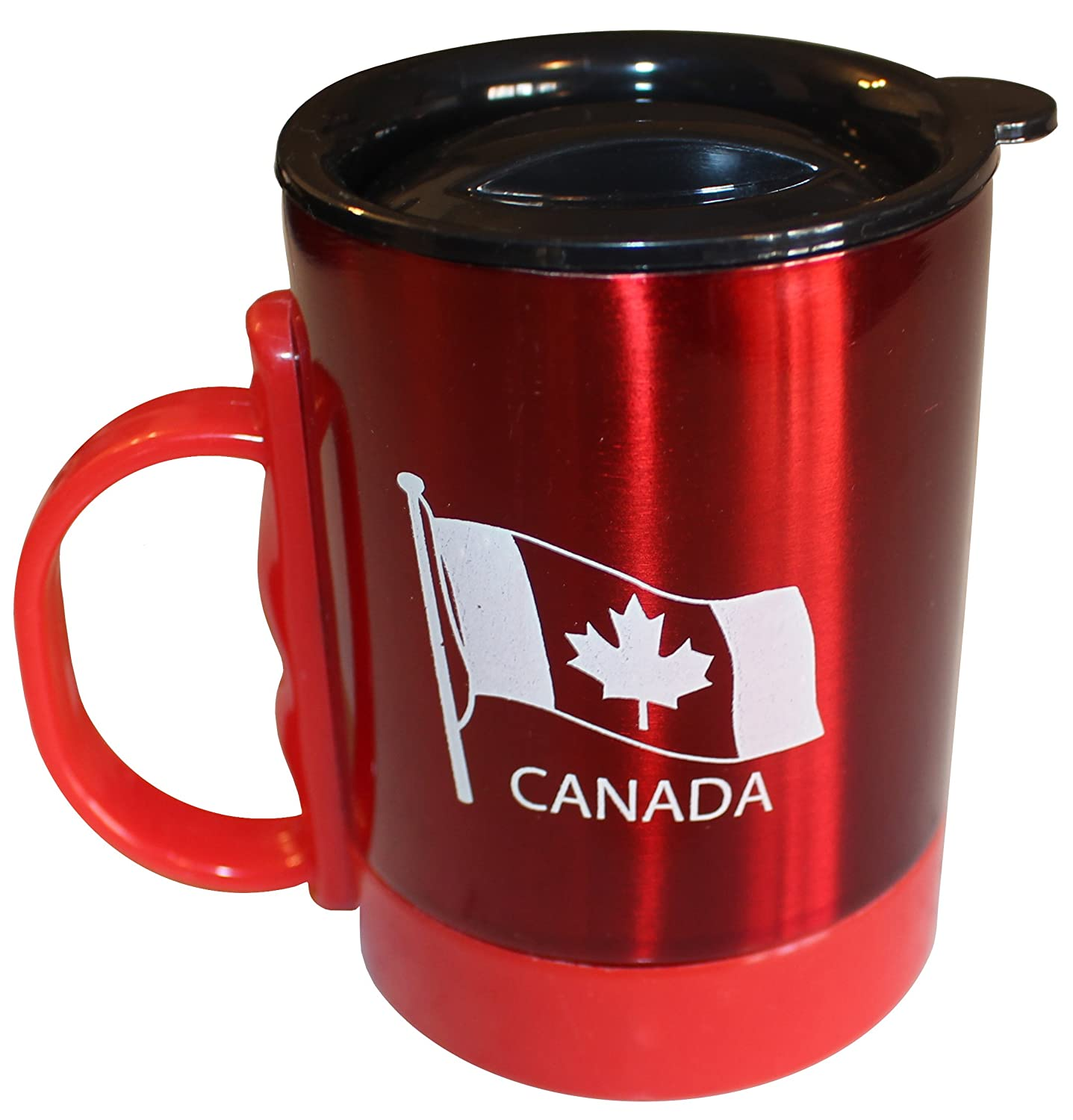 Canada Stainless Souvenir1 Steel Camping With Mug Travel Lid 8mN0nw