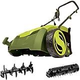 Sun Joe AJ801E 12 Amp 13' Electric Scarifier Plus Lawn Dethatcher with Collection Bag