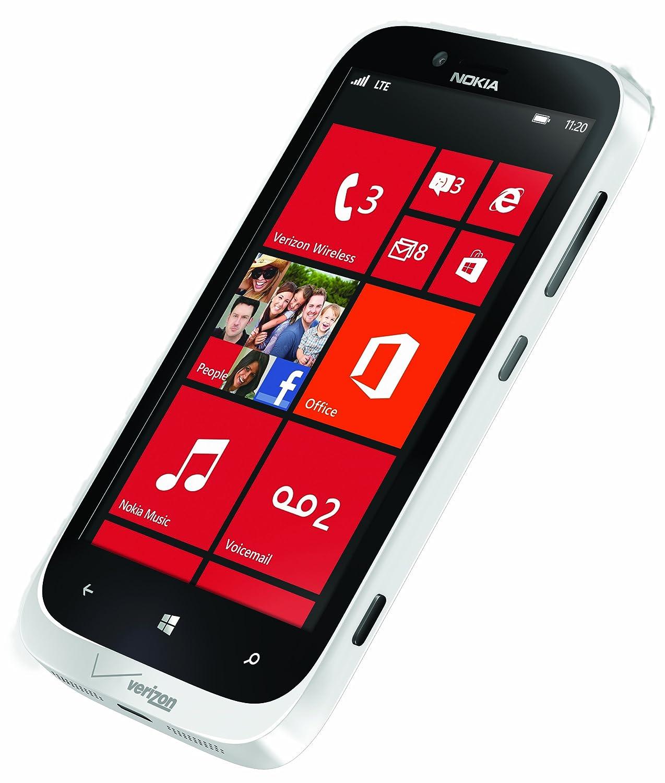 Verizon windows phones coming soon 2016 - Amazon Com Nokia Lumia 822 White 16gb Verizon Wireless Cell Phones Accessories
