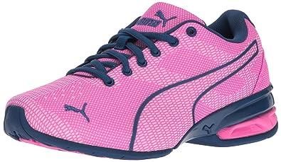 10e72e7f113317 PUMA Girls  Tazon 6 WOV Jr Running Shoe