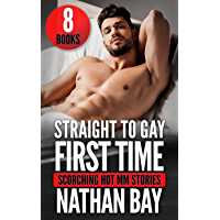 Straight to Gay First Time MM : 8 Short Stories Bundle