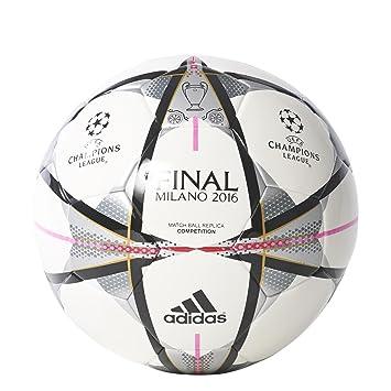 adidas Final Milano Comp - Balón para Hombre, Color Blanco/Negro ...