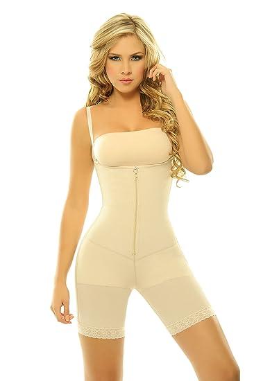 cbdaf16b6e273 Amazon.com  Siluet Women s Latex Sabina Colombian Girdle Body ...