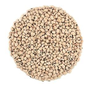 Organic Black Eyed Peas- Fiber & Protein rich, Raw, Non-GMO, Vegan Bulk-1LB