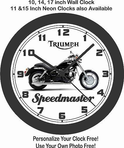 Jims Classic Clocks 2008 Triumph SPEEDMASTER Motorcycle Wall Clock Free USA Ship