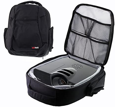 Navitech Protective Portable Projector Carrying Case and Travel Bag Compatible With The Epson EB-U05