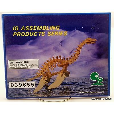 Dinosaur, Plesiosaurus model kit, wood, balsa NIB: Toys & Games