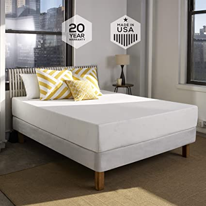 Amazon Com Sleep Innovations Shea 10 Inch Memory Foam Mattress