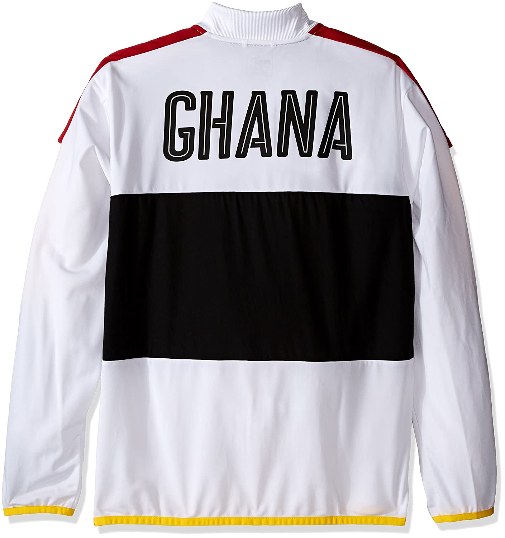 Puma -Chaqueta de chándal Hombre Blanco Puma White/Black/Chili ...