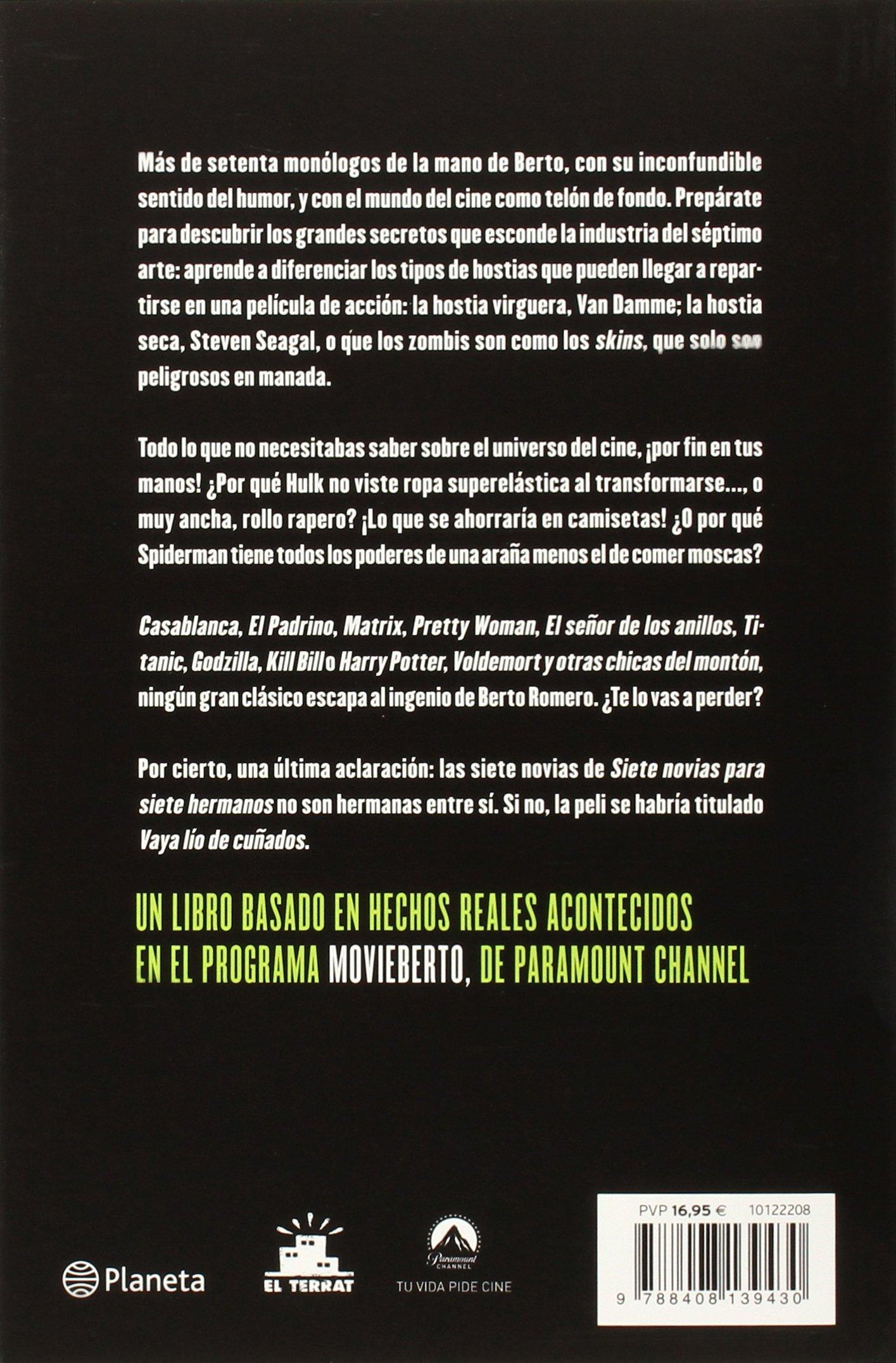 En ocasiones veo pelis: BERTO ROMERO / RAFAEL BARCELO: 9788408139430: Amazon.com: Books
