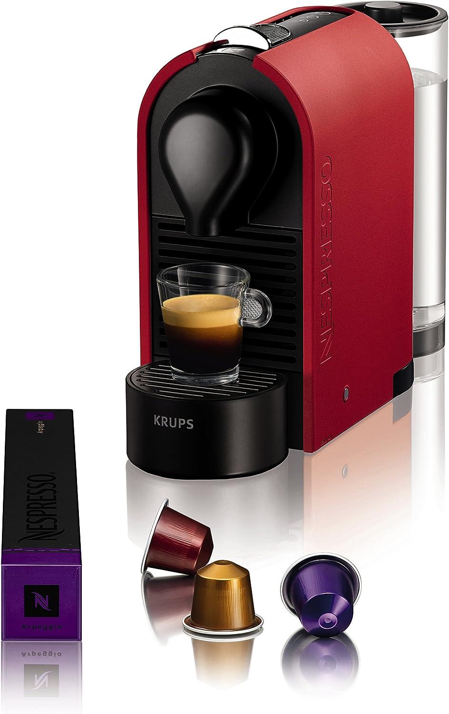 Nespresso Intenso Krups U XN2505 Cafetera de cápsulas de 19 bares ...