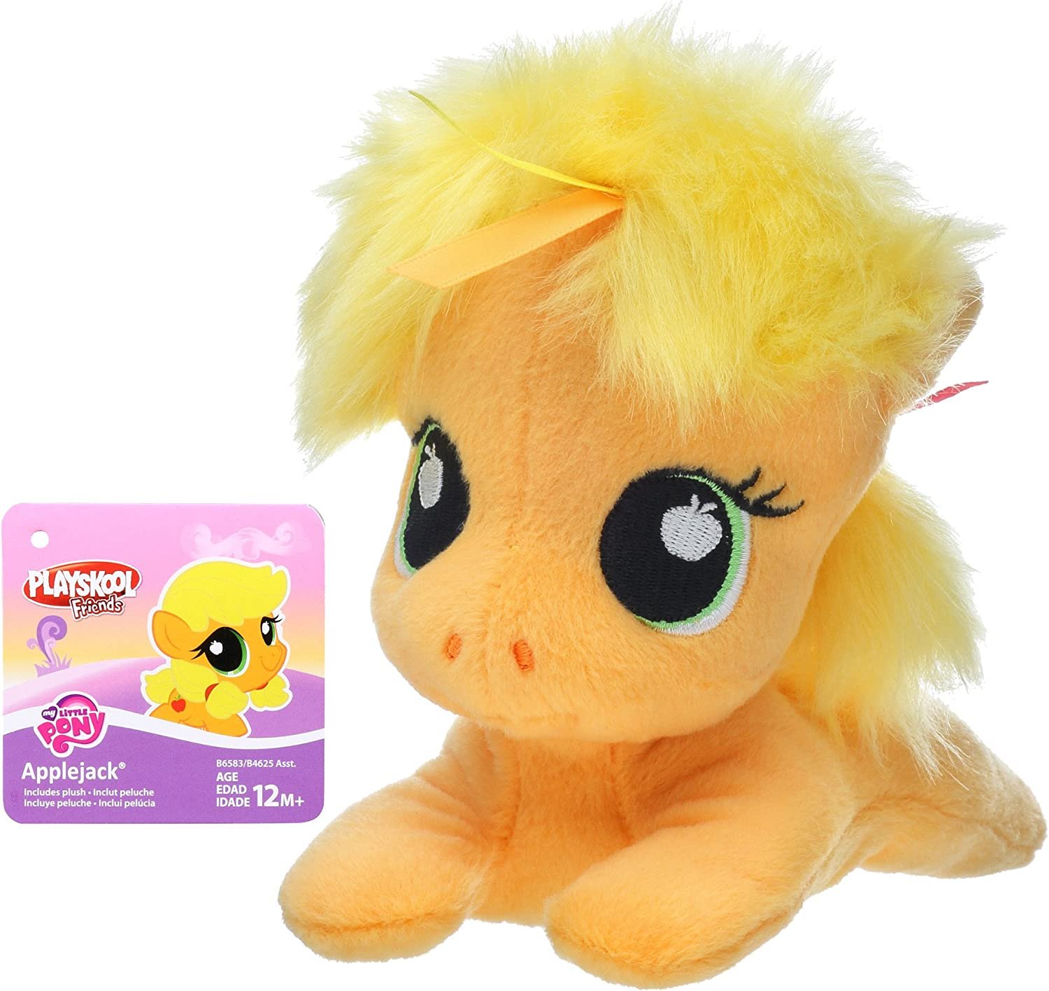 Ships Fast+ My Little Pony Applejack PlushToy Playskool Freinds Collectible