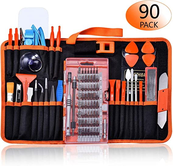 Deluxe Cell Phone Repair Tool Kits Professional Adjustable Anti-Static Wrist Band with Cord P8839 Repair Kits