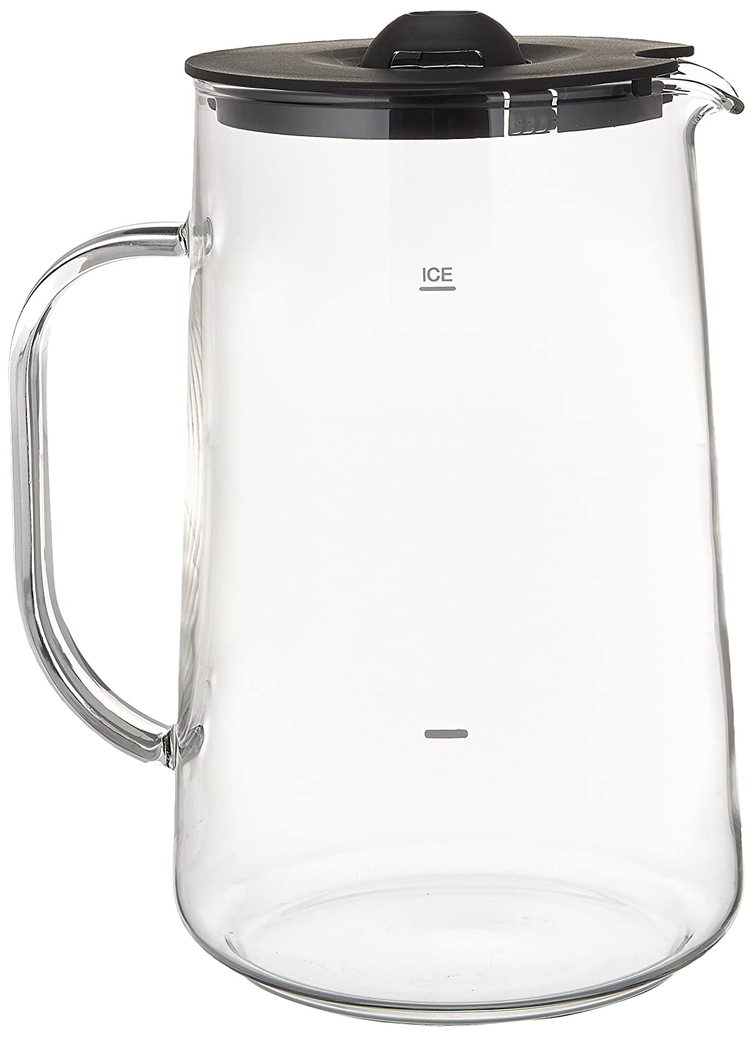 Capresso 6624 Ice Tea Glass Pitcher, 80 oz. (2.5 Qt.)