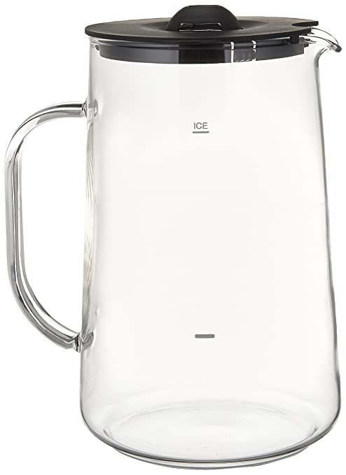 Amazon.com | Capresso 6624 Ice Tea Glass Pitcher, 80 oz. (2.5 Qt