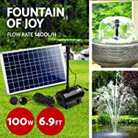 Gardeon Submersible Solar Fountain Pump