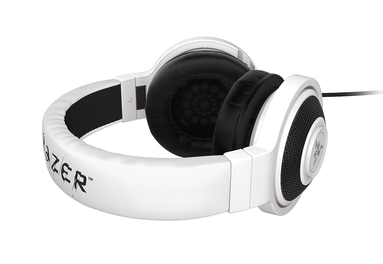 Razer Kraken Pro - Auriculares Gaming De Diadema Cerrados con micrófono, color blanco: Amazon.es: Informática