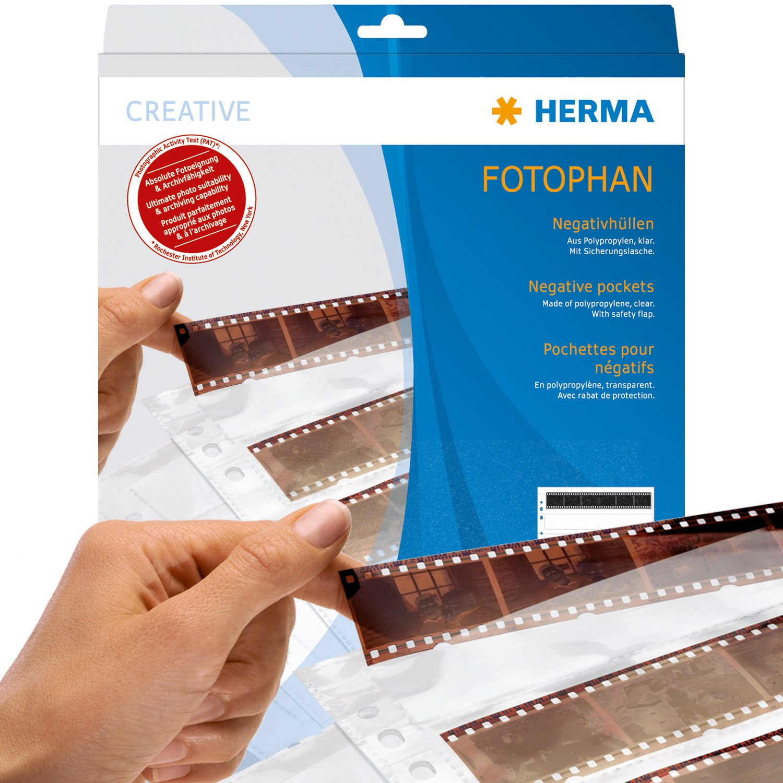100 p. Herma Negative pockets 7x5