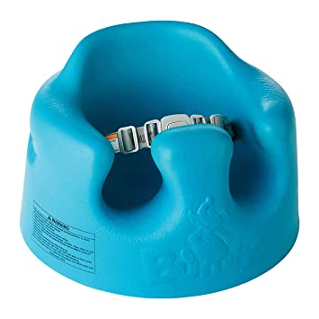 Other Bumbo Baby Seat With Tray green/blue/turquoise Used Good Condition