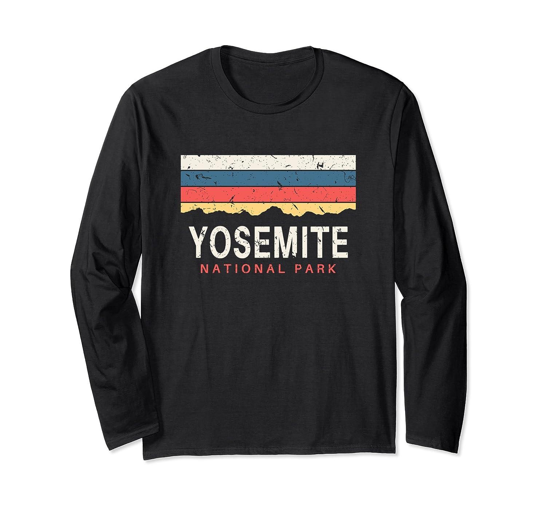 Yosemite National Park Long Sleeve T Shirt California-mt