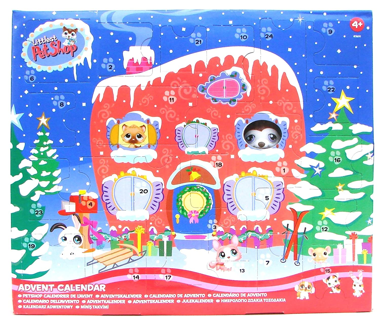 Amazon.com: Littlest Pet Shop Christmas Advent Calendar: Home ...