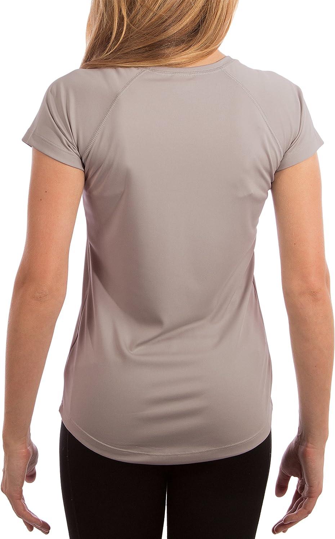 Camiseta de Manga Corta con protecci/ón Solar contra Rayos UV Factor 50+ para Mujer Vapor Apparel