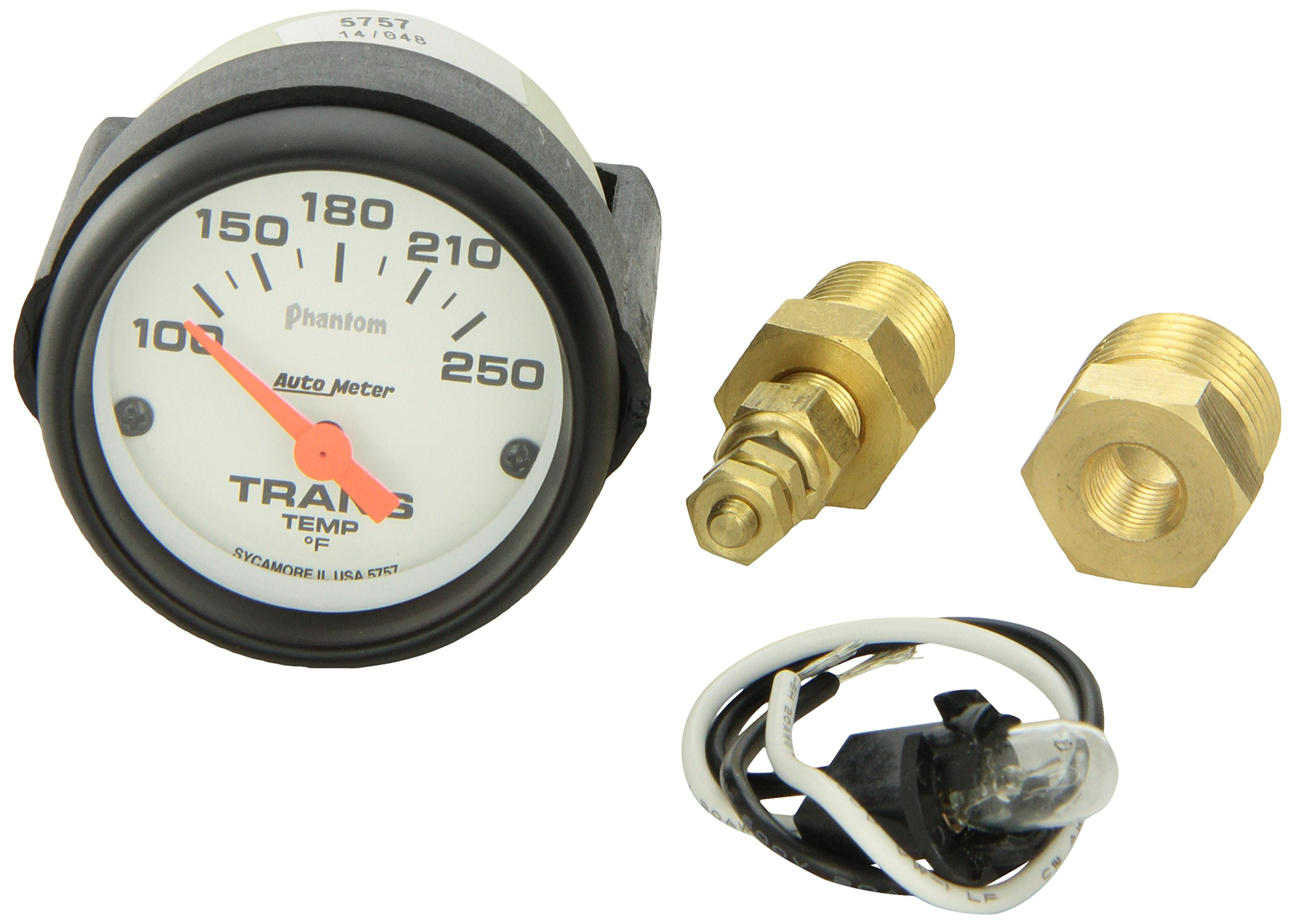 Auto Meter 5757 Electric Transmission Temperature Gauge by Auto Meter