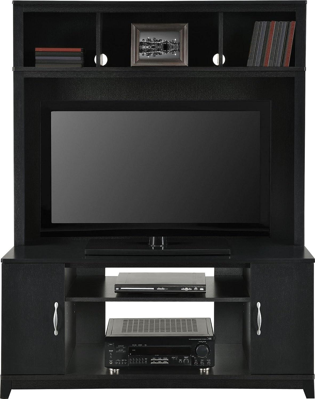 amazoncom altra woodland 42 entertainment console black kitchen dining amazoncom altra furniture ryder apothecary