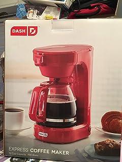 Amazon.com: Continental Electric Rojo Metálico 10-cup ...
