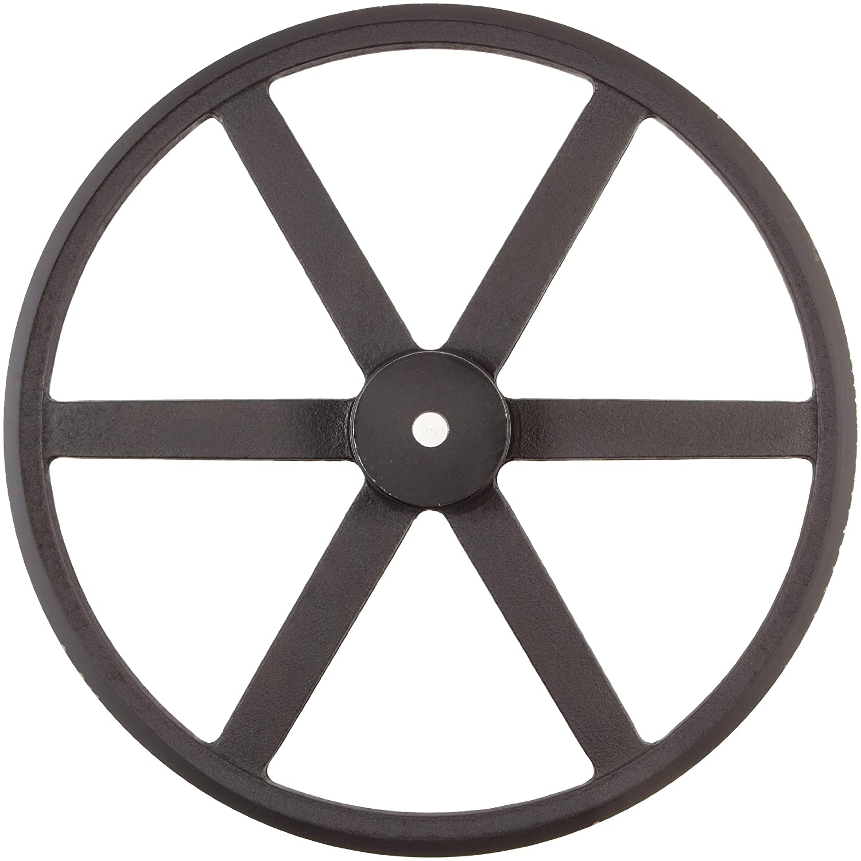 3L//4L Belt Section 6.25 OD Martin AK64 P//B Plain Bore FHP Sheave 1//2 Bore Class 30 Gray Cast Iron 3969 max rpm 1 Groove 5.66 Pitch Diameter//6 Datum